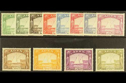 1937 Dhows Set Complete, SG 1/12, Mint Lightly Hinged And Fresh. A Beautiful Set (12 Stamps) For More Images, Please Vis - Aden (1854-1963)