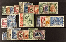 SEIYUN 1942-51 FINE USED COLLECTION Incl. 1942 Set, 1949 Wedding, UPU, 1951 Set To 2s On 2r, Lovely Cds Used. (26 Stamps - Aden (1854-1963)