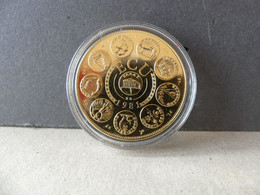 Ecu Euro Europa 1981 Trésor Du Patrimoine Monnaie De Paris - Errores Y Curiosidades
