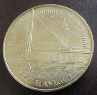 France - Jeton Monnaie De Paris - Pont De Normandie Au Havre, Patrimoine Mondial De L'Humanité - 2009