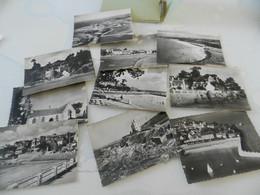 10  Photos   9 Cm  Sur  6,5  Cm    Locquirec - Locquirec