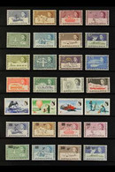 1963-2003 NEVER HINGED MINT COLLECTION Neatly Arranged On Stock Pages, We See 1963-9 Defins Set, 1966 Churchill Set, 197 - Sin Clasificación