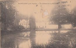 Saint-Just 27 - Château Et Pièce D'eau - Environs De Vernon - 1952 - Non Classés