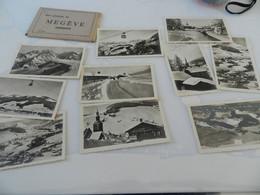 10  Photos   9 Cm  Sur  6,5  Cm    Megève - Megève