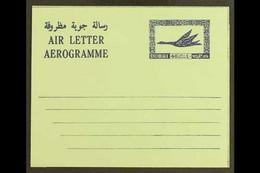 AIRLETTER 1968 40d Blue On Green Paper, Bogus, Similar To Kessler K17, Very Fine Unused. For More Images, Please Visit H - Dubai
