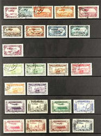 SYRIA 1922-47 AIR MAIL COLLECTION Fine Used On Stock Pages, Including A 1922 5pi On 1f, 1925 & 1926 Sets, 1929 & 1930 Se - Ohne Zuordnung