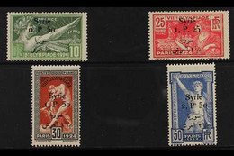 SYRIA 1924 (Sept) Olympic Games Set, Bilingual Surcharged, SG 166/69, Yv 149/52, Very Fine Mint (4 Stamps) For More Imag - Ohne Zuordnung