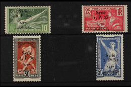 SYRIA 1924 (Sept) Olympic Games Set, Bilingual Surcharged, SG 166/69, Yv 149/52, Never Hinged Mint (4 Stamps) For More I - Ohne Zuordnung