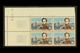 F.S.A.T. 1979 30fr Dumont D'Urville, Yv 28, Corner Dated Block Of 4, Superb Never Hinged Mint. For More Images, Please V - Ohne Zuordnung