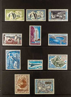 T.A.A.F 1956-81 FINE MINT AIRMAIL COLLECTION Presented On A Pair Of Stock Pages, Including The 1956 50f & 100f Penguins, - Ohne Zuordnung