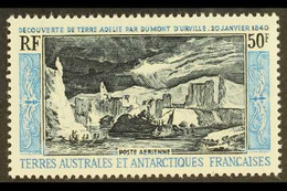 T.A.A.F. 1965 50f Discovery Of Adelie Land, Airmail Issue, Yvert 8, SG 38, Never Hinged Mint. For More Images, Please Vi - Ohne Zuordnung