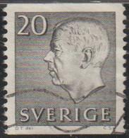 Suecia 1961 Scott 572 Sello º  King Gustav VI Adolf Michel 469A Yvert 462 Sweden Stamps Timbre Suède Briefmarke Sverige - Gebraucht