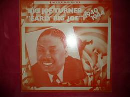LP33 N°7615 - BIG JOE TURNER - 510.080 - DISQUE EPAIS - Blues