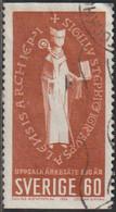Suecia 1964 Scott 646 Sello º Arzobispo De Uppsala Michel 518A Yvert 517aSweden Stamps Timbre Suède Briefmarke Sverige - Gebraucht