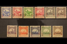 OBLIGATORY TAX 1952 Overprinted Complete Set, SG T334/44, Very Fine Mint Seldom Seen Set (11 Stamps) For More Images, Pl - Jordan