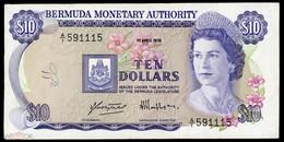 BERMUDAS  10 Dollars 1978,  P-30a VF RARE! - Bermudas