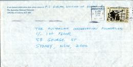 Australia Cover Siege Of Tobruk 1991 Australian Skin Auctions To Melbourne - Cartas