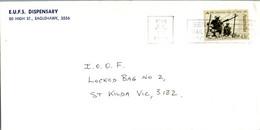 Australia Cover Siege Of Tobruk 1991 EUFS Dispensary Eaglehawk To St Kilda - Cartas