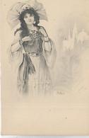 Thèmes, Illustrateurs Signès, BOTTARO, Femme Russe, Scan Recto-Verso - Bottaro