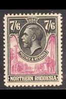 1925 7s6d Rose-purple And Black, SG 15, Fine Mint. For More Images, Please Visit Http://www.sandafayre.com/itemdetails.a - Nordrhodesien (...-1963)