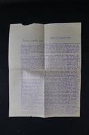 VIEUX PAPIERS - Lettre D'une Mission Catholique De Nasso ( Haute Volta ) En 1954, Voir Texte - L 89573 - Collections
