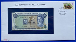 BERMUDAS  1 Dollars 1982, UNC In Cover - Bermudas