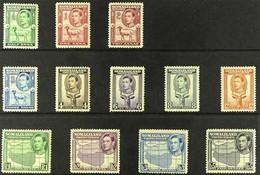 1938 KGVI Definitive Complete Set, SG 93/104, Fine Mint (12 Stamps) For More Images, Please Visit Http://www.sandafayre. - Somaliland (Herrschaft ...-1959)