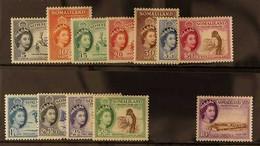 1953-8 Pictorials Set Of 12, SG 137/48, Flawless Never Hinged Mint. For More Images, Please Visit Http://www.sandafayre. - Somaliland (Herrschaft ...-1959)
