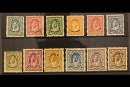 1930 LOCUST CAMPAIGN. Emir Overprinted Complete Set, SG 183/94, Fine Mint (12 Stamps) For More Images, Please Visit Http - Jordan
