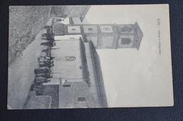 CARTOLINA SALTO CHIESA E CAMPANILE ANIMATA PAESE VG 1913 - Modena