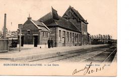 Berchem- Sainte-Agathe: Gare - St-Agatha-Berchem - Berchem-Ste-Agathe