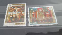 LOT532315 TIMBRE DE ANDORRE NEUF** LUXE N°243/244 VALEUR 18,5 EUROS - Collections