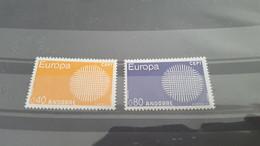 LOT532318 TIMBRE DE ANDORRE NEUF** LUXE N°202/203 VALEUR 34,5 EUROS - Collections