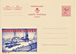 PUBLIBEL  # 1785 . OOSTENDE - DOVER . Port - Bateau - Train - Auto - Publibels