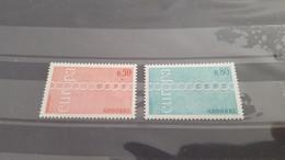 LOT532319 TIMBRE DE ANDORRE NEUF** LUXE N°212/213 VALEUR 50 EUROS - Collections