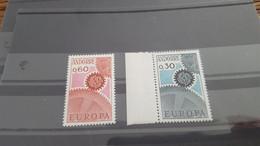 LOT532322 TIMBRE DE ANDORRE NEUF** LUXE N°179/180 VALEUR 25 EUROS - Collections