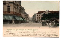Ostende: Rue Longue Et L'ancien Théâtre - Oostende