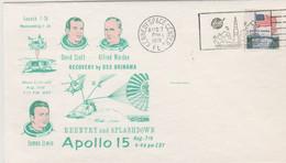 N°1260 N -lettre (cover) - Apollo 15- - USA