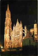60 - Senlis - La Cathédrale Notre Dame - Vue De Nuit - Carte Neuve - CPM - Voir Scans Recto-Verso - Senlis