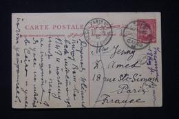EGYPTE - Entier Postal Du Caire Pour La France En 1935 - L 89586 - Briefe U. Dokumente