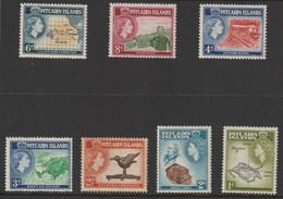 Pitcairn-Island   1957  SG Nr. 19-25   Mi.nr  21-27  . MLH - Islas De Pitcairn