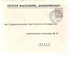 Cultuur Mij. DOEKOEWRIGIN 1925 > Baarn Professor Langelaan (bouw Centraal Zenuwstelsel) (FA-62) - Covers & Documents
