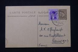 EGYPTE - Entier Postal De Ismailia Pour La France En 1940 Avec Cachet De Censure - L 89587 - Cartas