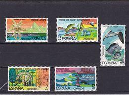 España Nº 2469 Al 2473 - 1971-80 Nuevos & Fijasellos