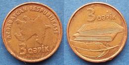 AZERBAIJAN - 3 Qapik ND (2006) KM# 40 Independent Republic - Edelweiss Coins - Azerbaïjan