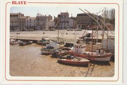 DEPT 33 : édit. Compa Carterie : Blaye Le Port A Marée Basse - Blaye