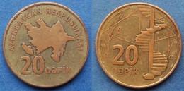 "AZERBAIJAN - 20 Qapik ND (2006) ""spiral Staircase"" KM# 43 - Edelweiss Coins - Azerbaïjan"