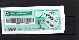 Aangetekend Tuimelstempel Rotterdam 2007  (FB-80) - Covers & Documents