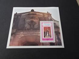 M10444 -Bloc  MNH Nicaragua 1978 - SC. C937 - Fransico De Asis -  - Our Lady Of Conception - Nicaragua
