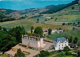 69 - Beaujeu - Château Des Ardillats - Vue Aérienne - Colonnie De Vacances De La Compagnie Générale Transatlantique - Ca - Beaujeu